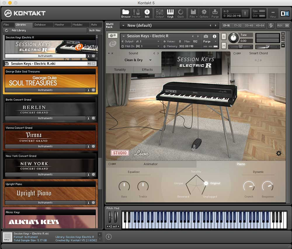 Test: e-instruments SESSION KEYS ELECTRIC R › music-knowhow